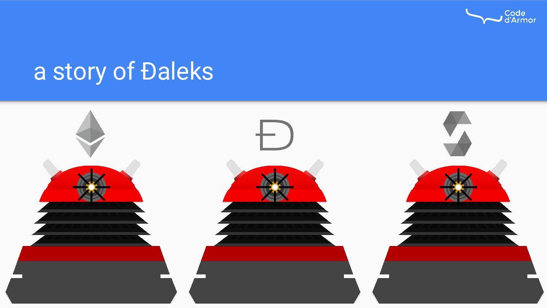 a story of Ðaleks Ð