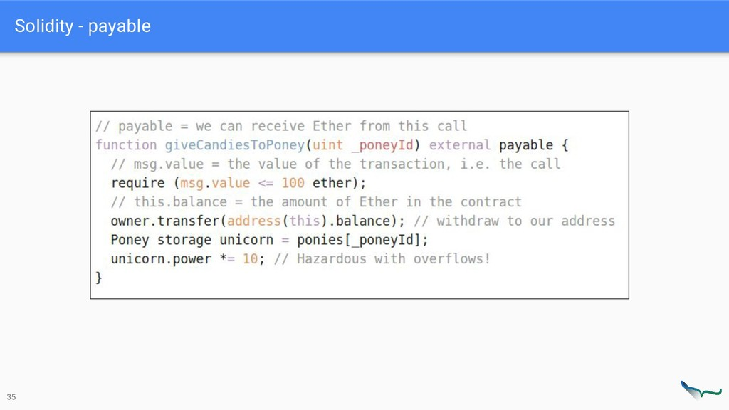 Solidity - payable 35