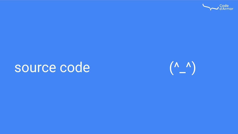 source code (^_^)