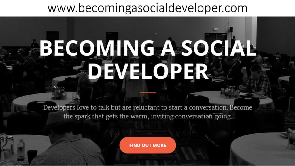 www.becomingasocialdeveloper.com