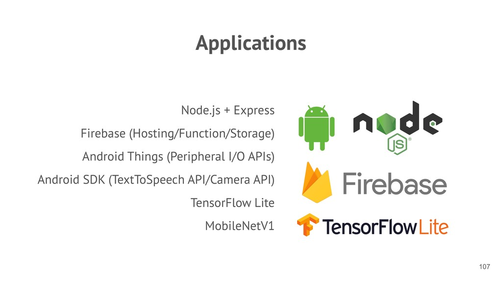 Applications Node.js + Express Firebase (Hostin...