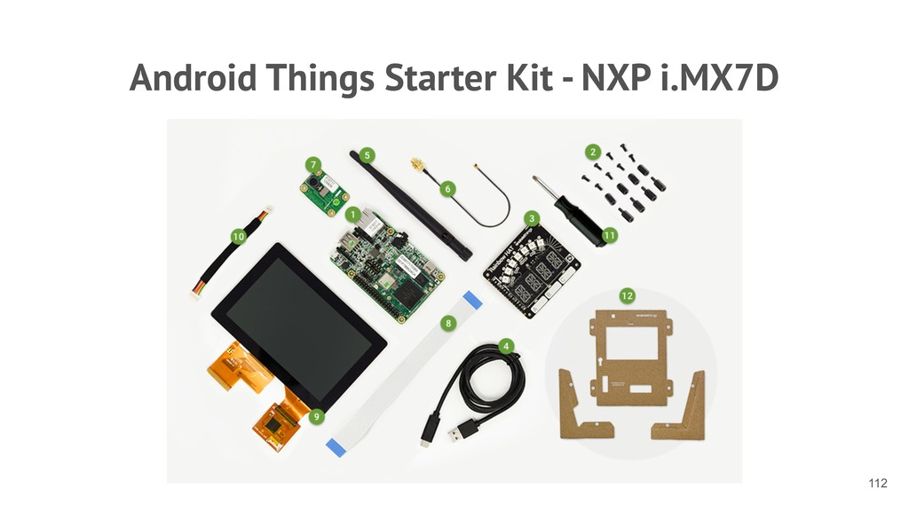 Android Things Starter Kit - NXP i.MX7D !112