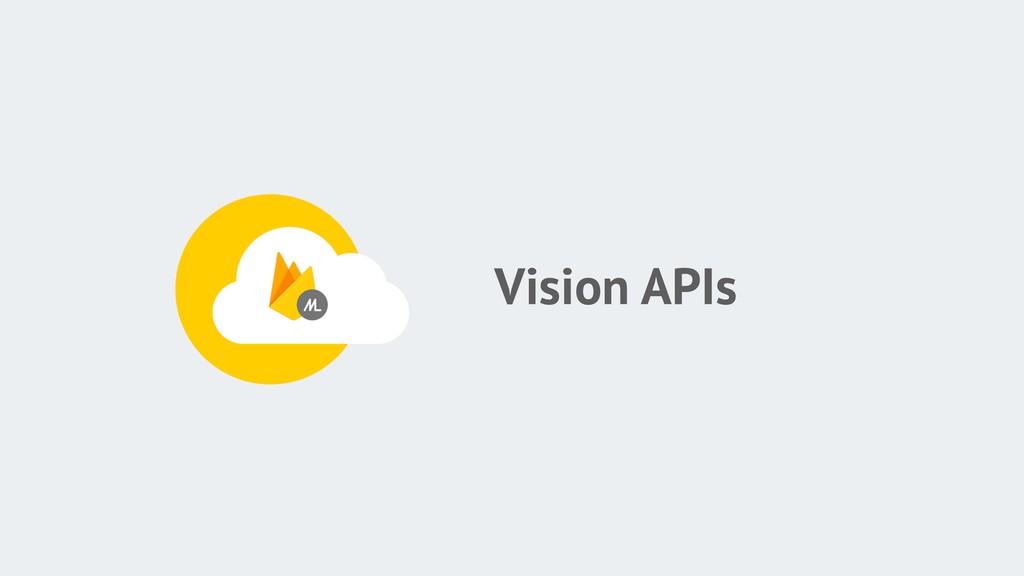 Vision APIs