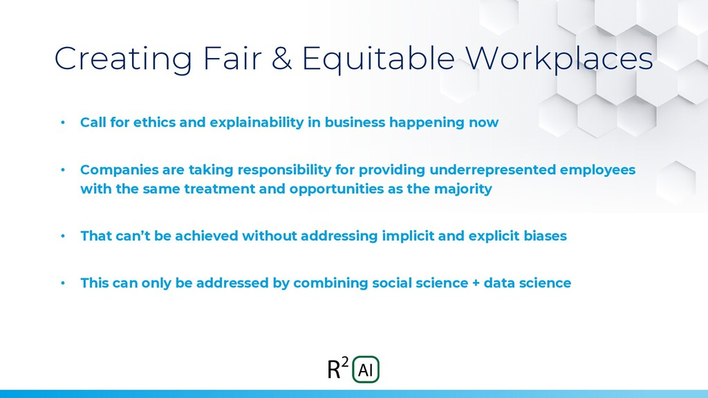 Creating Fair & Equitable Workplaces • Call for...