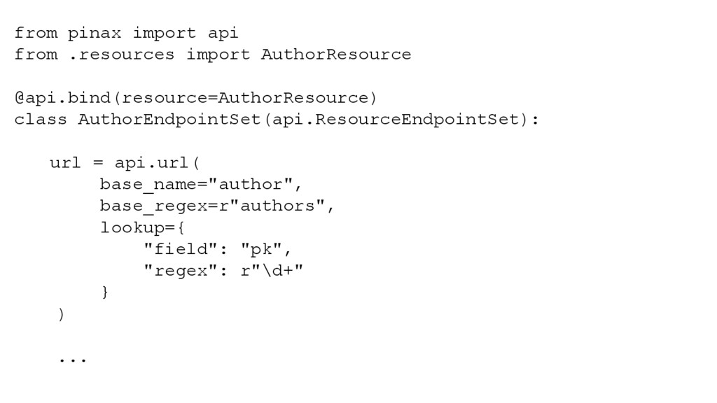 from pinax import api from .resources import Au...