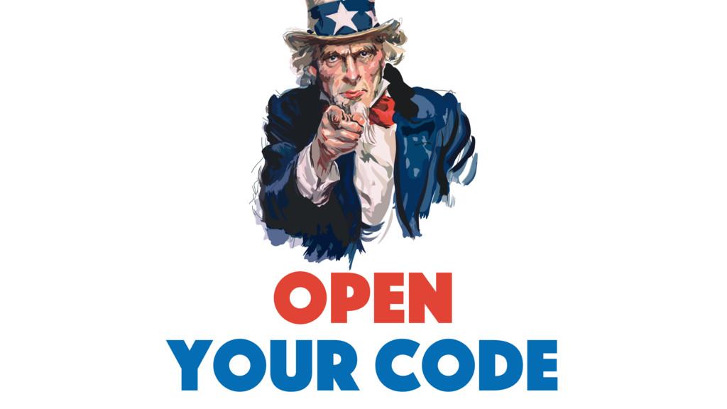 open your code