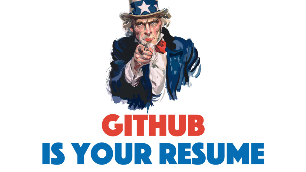 github is your resume