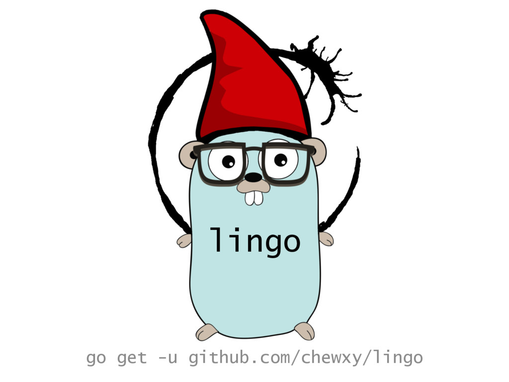 lingo go get -u github.com/chewxy/lingo