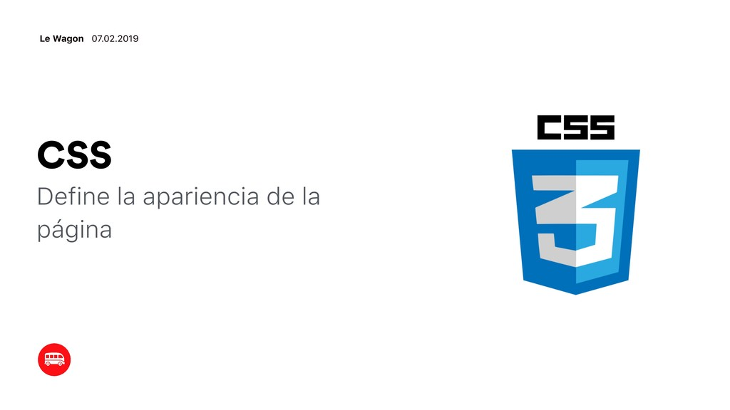 CSS Define la apariencia de la página Le Wagon ...