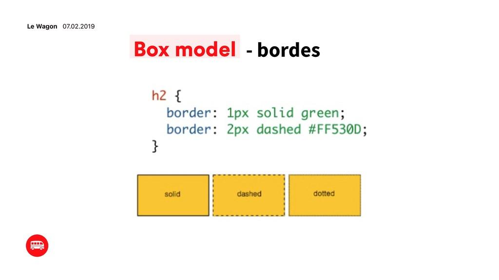 Le Wagon 07.02.2019 - bordes Box model