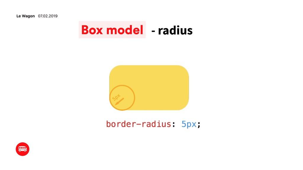 Le Wagon 07.02.2019 - radius Box model