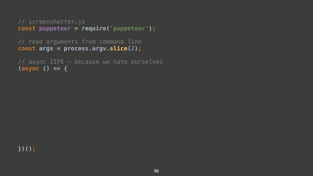 // screenshotter.js const puppeteer = require('...