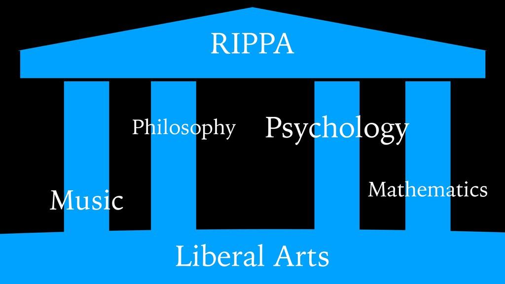 Liberal Arts Psychology Mathematics Philosophy ...