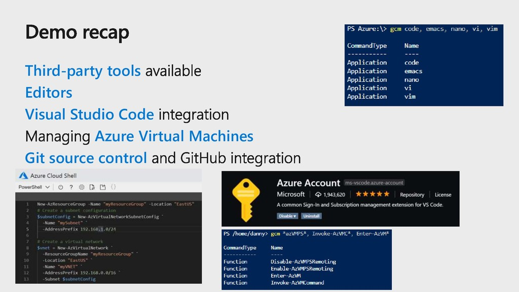 Third-party tools Editors Visual Studio Code Az...