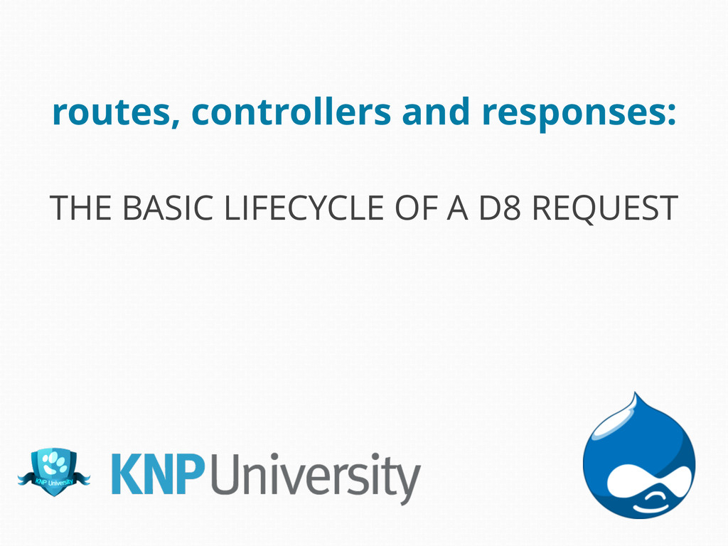 routes, controllers and responses: THE BASIC LI...