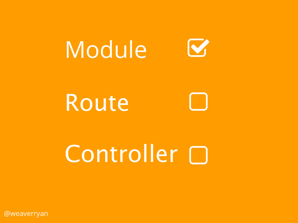 "Module Route Controller @weaverryan ! ! """