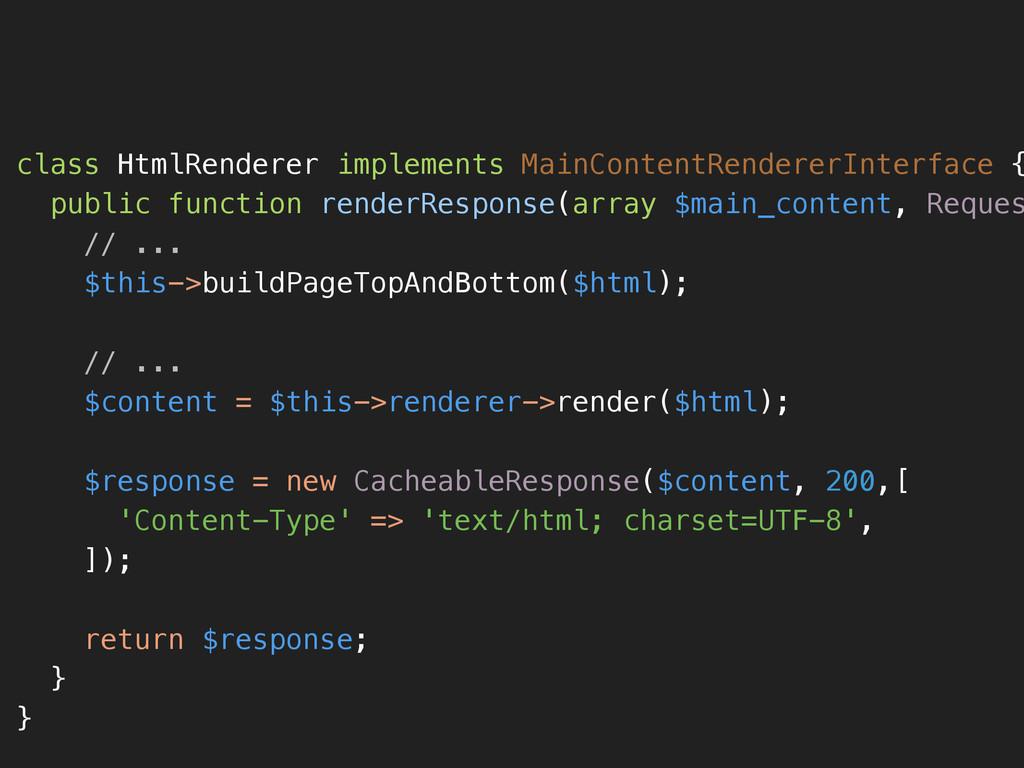 class HtmlRenderer implements MainContentRender...