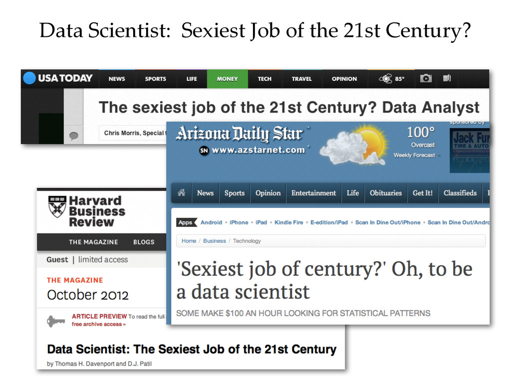 Data Scientist:  Sexiest Job of the 21st...