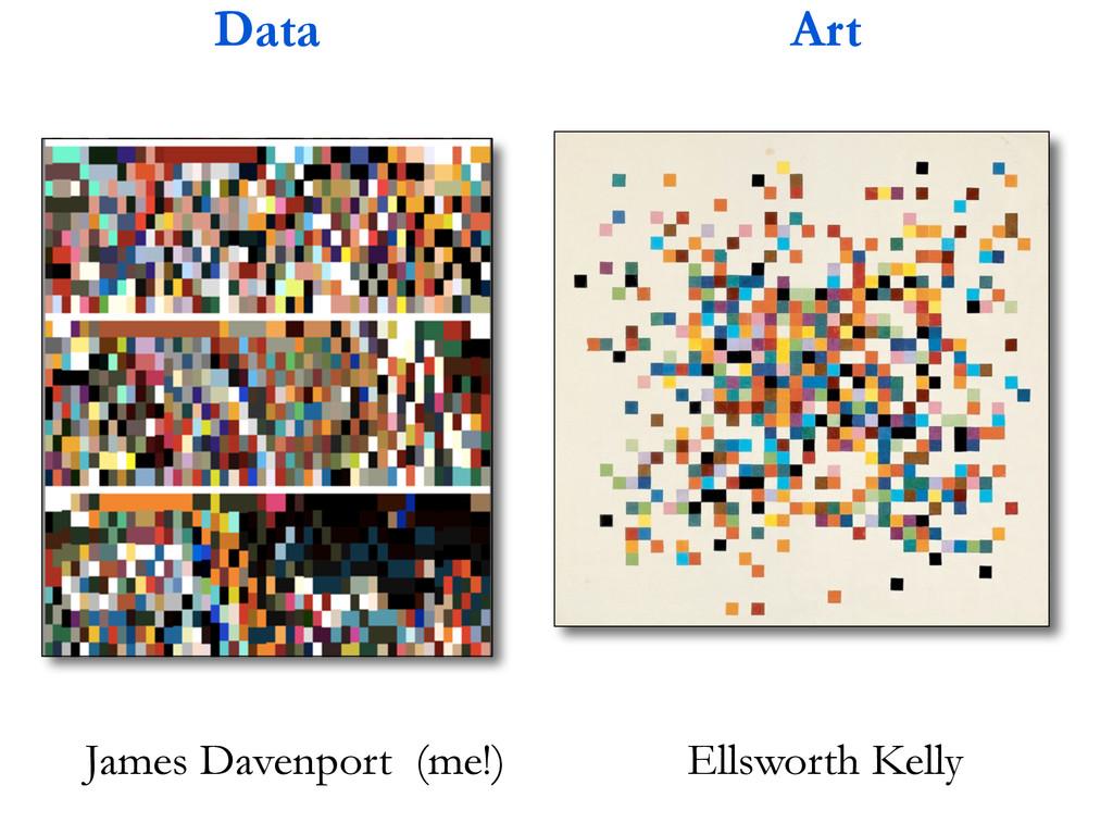 Ellsworth Kelly Data Art James Davenport (me!)