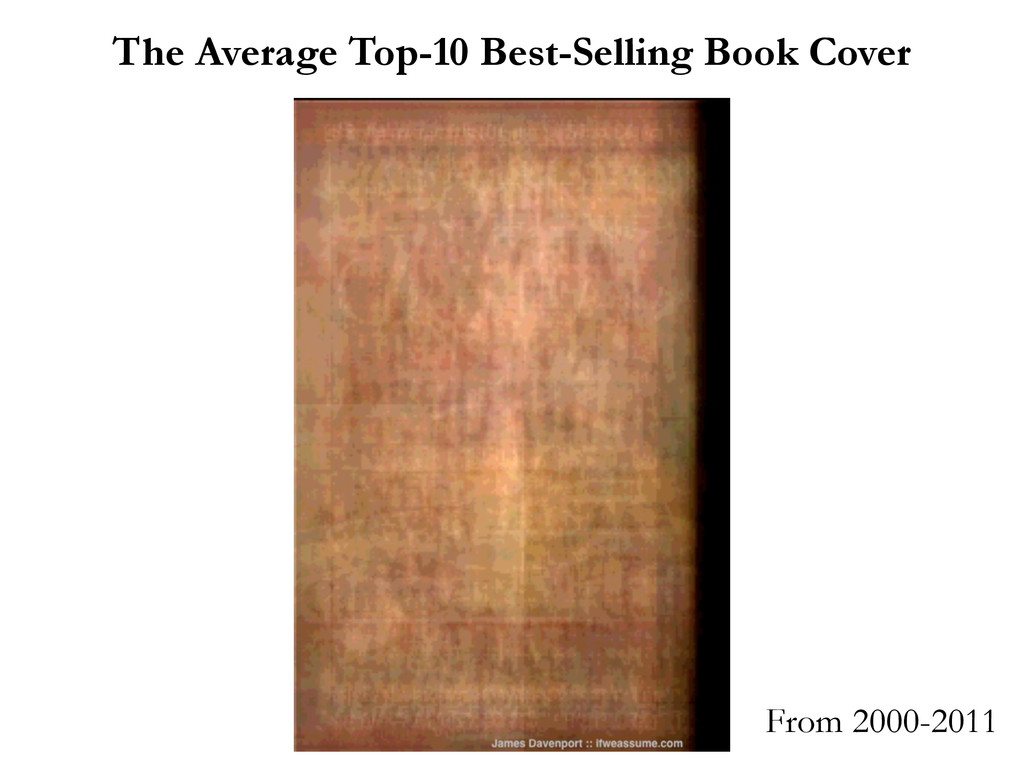 The Average Top-10 Best-Selling Book Cover From...