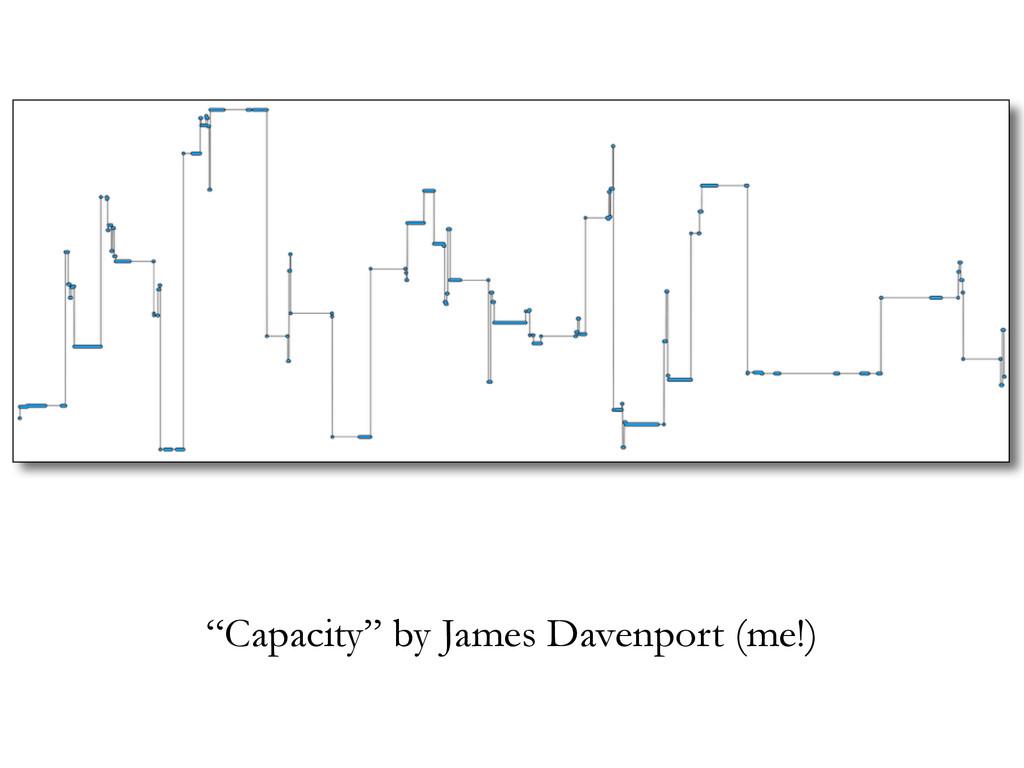 """Capacity"" by James Davenport (me!)"