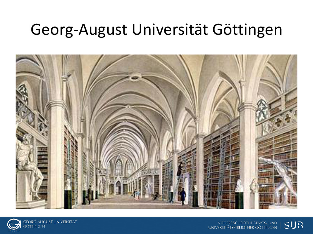 Georg-August Universität Göttingen