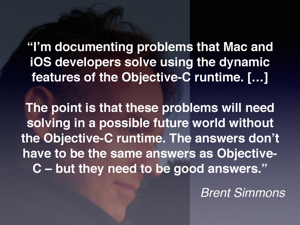 """""""I'm documenting problems that Mac and iOS deve..."""