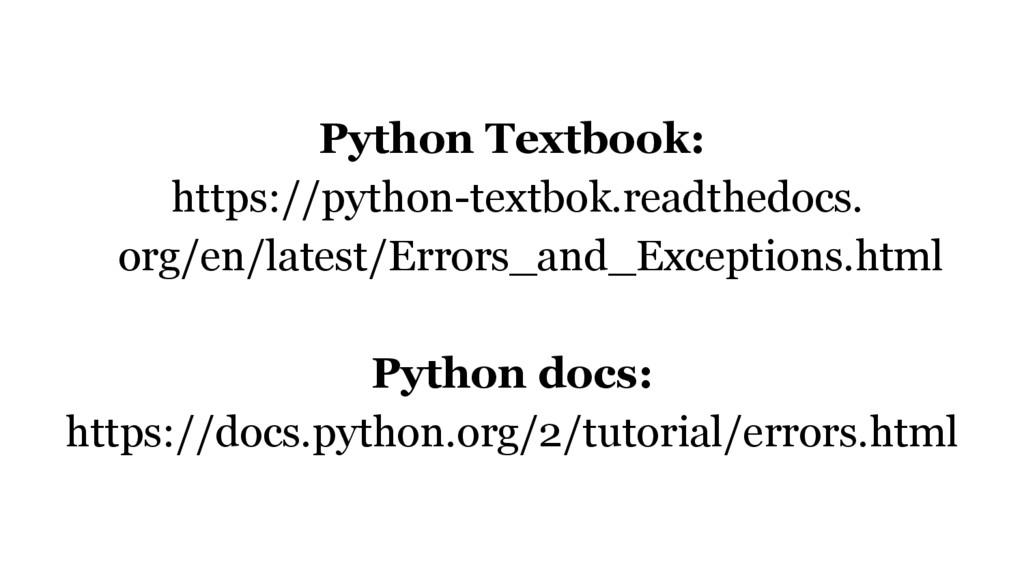 Python Textbook: https://python-textbok.readthe...