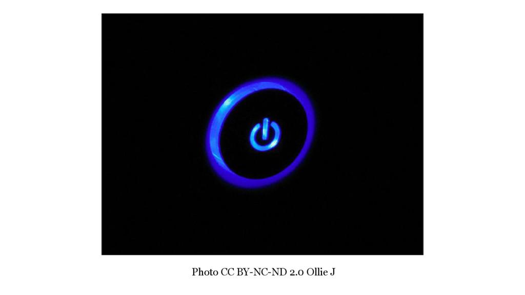 Photo CC BY-NC-ND 2.0 Ollie J