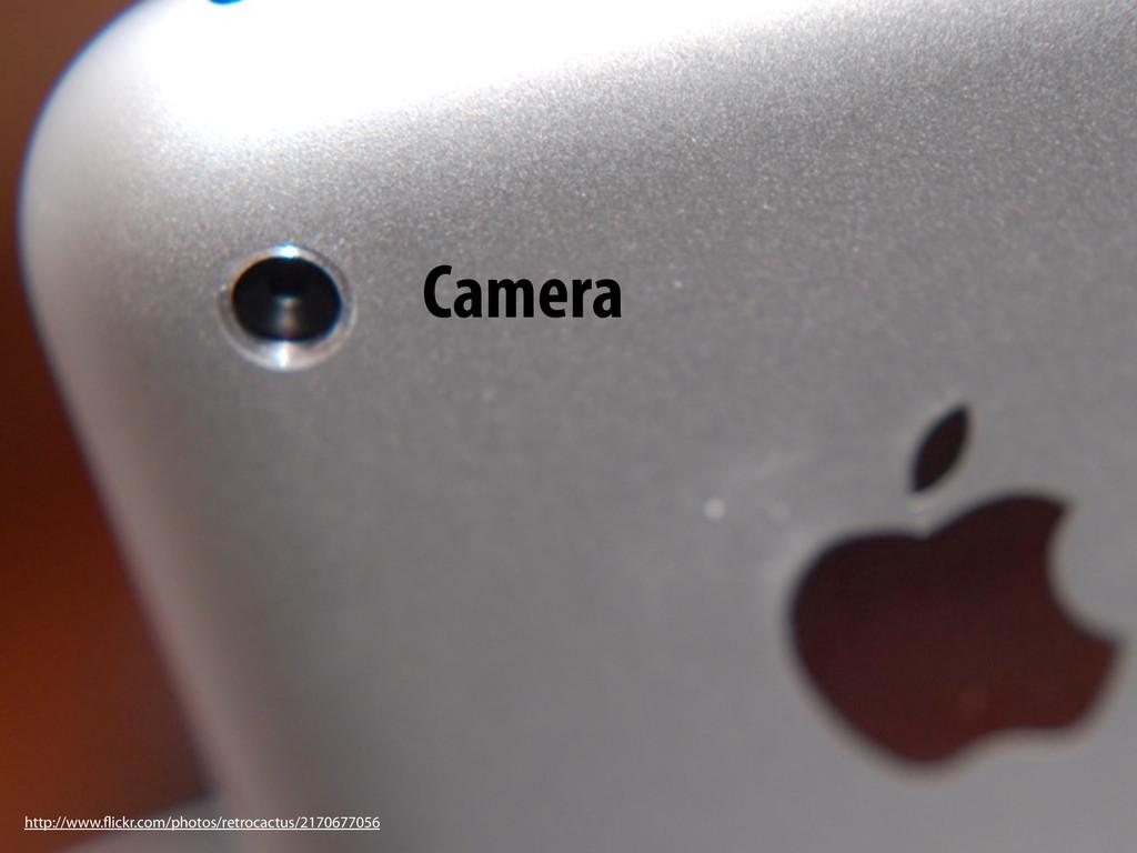Sensors and camera Camera http://www.flickr.com...