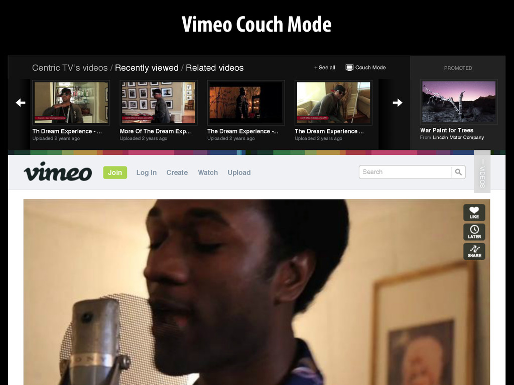 Couch Mode + See all Centric TV's videos / Rece...