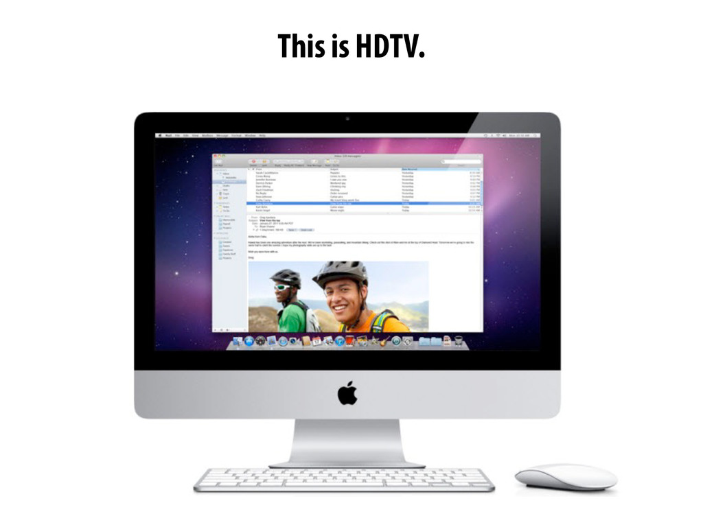 This is HDTV.