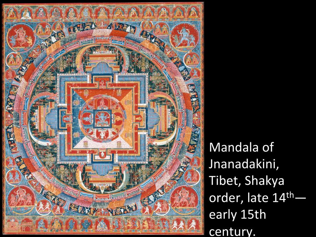 Mandala of  Jnanadakini,  Tibet, Sh...