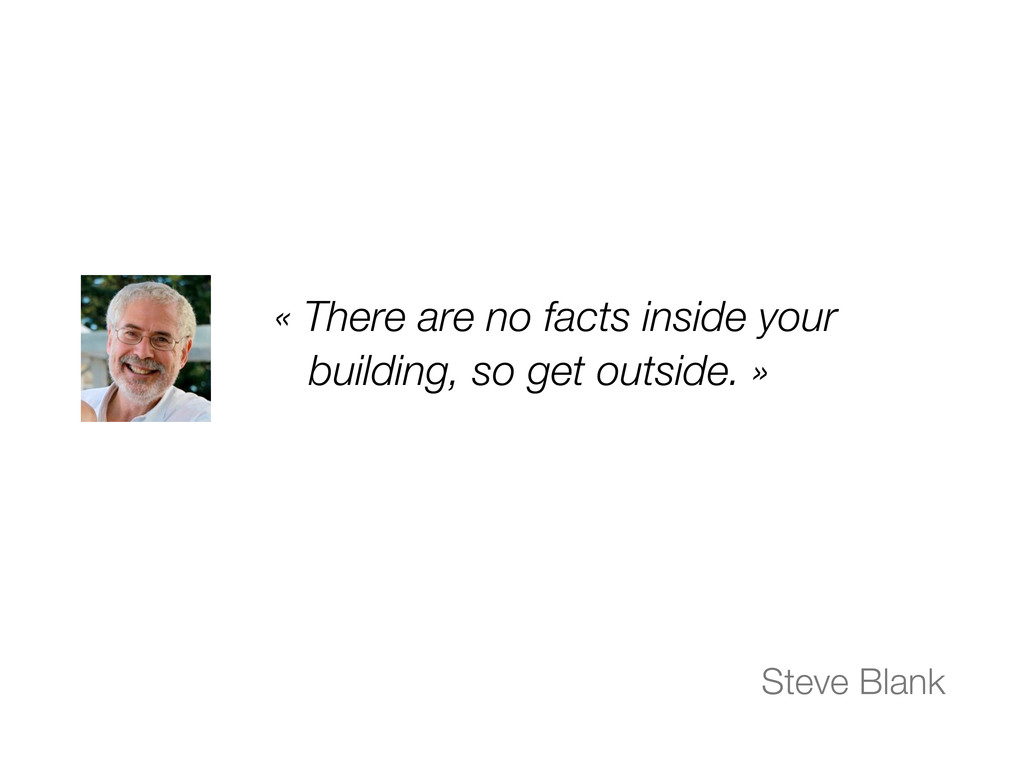 « There are no facts inside your building, so g...