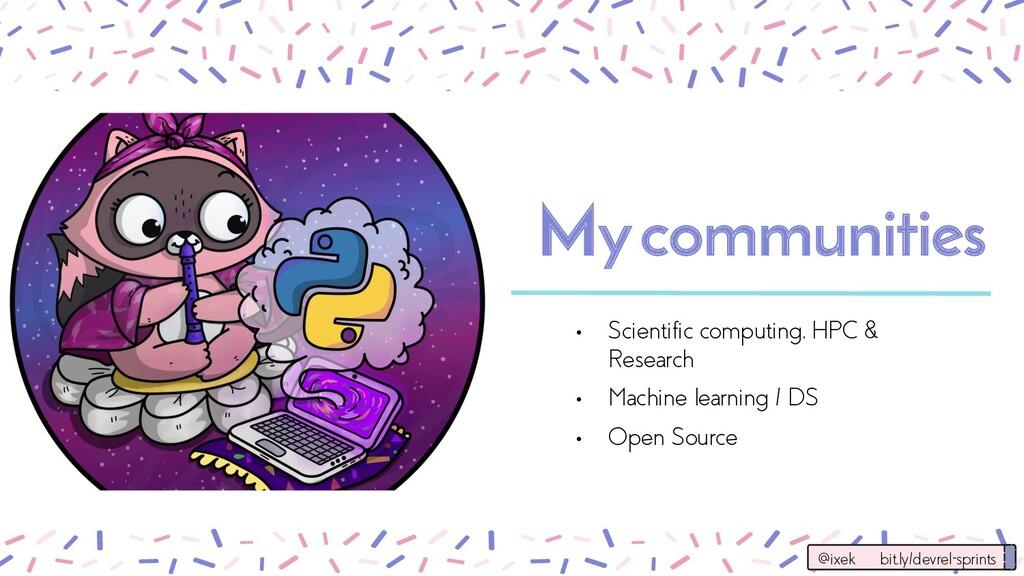 Mycommunities • Scientific computing, HPC & Res...