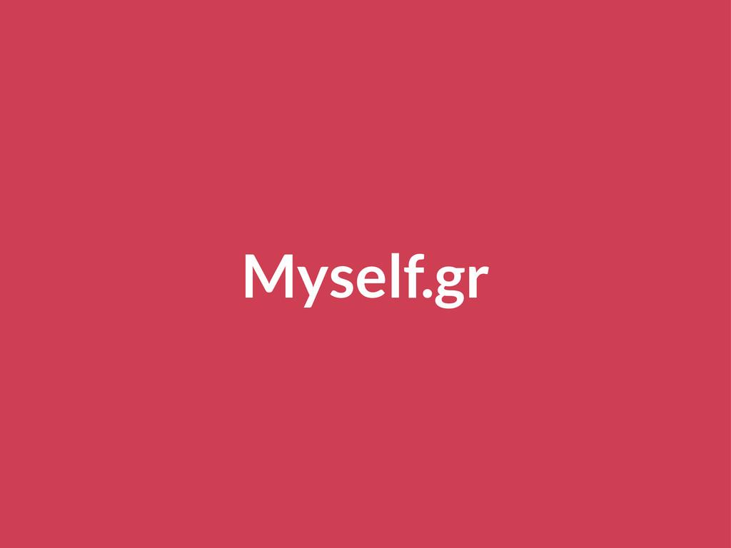 Myself.gr