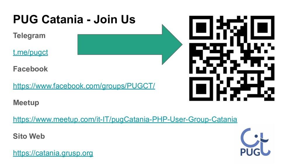 PUG Catania - Join Us Telegram t.me/pugct Faceb...