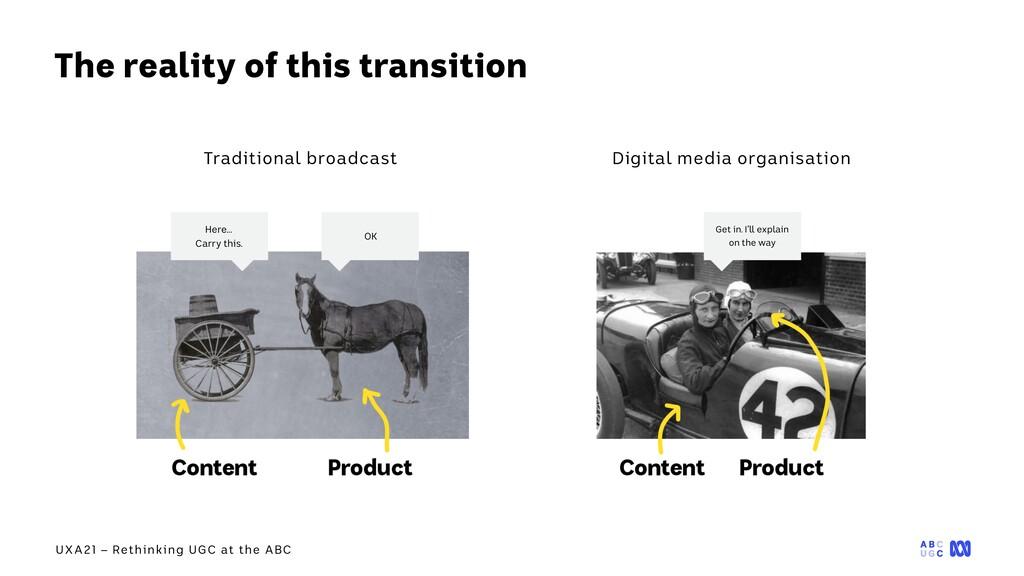 UXA21 – Rethinking UGC at the ABC The reality o...