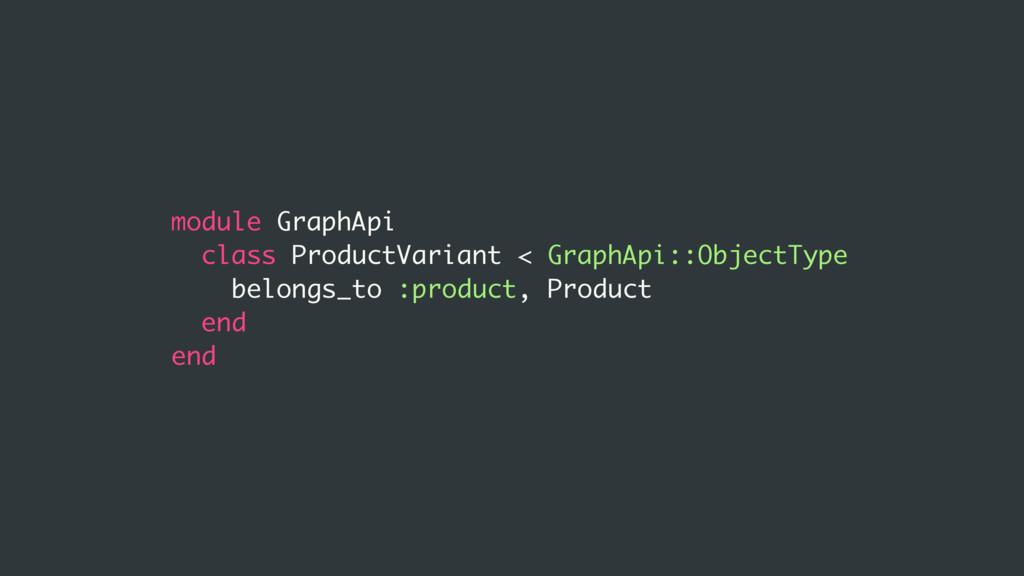 module GraphApi class ProductVariant < GraphApi...