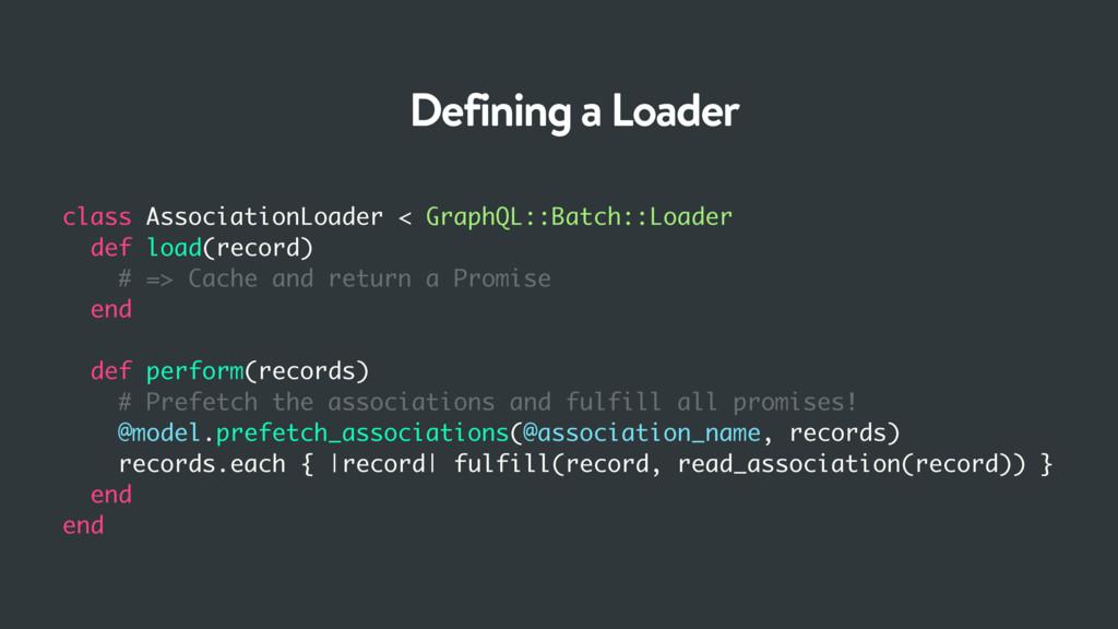 class AssociationLoader < GraphQL::Batch::Loade...