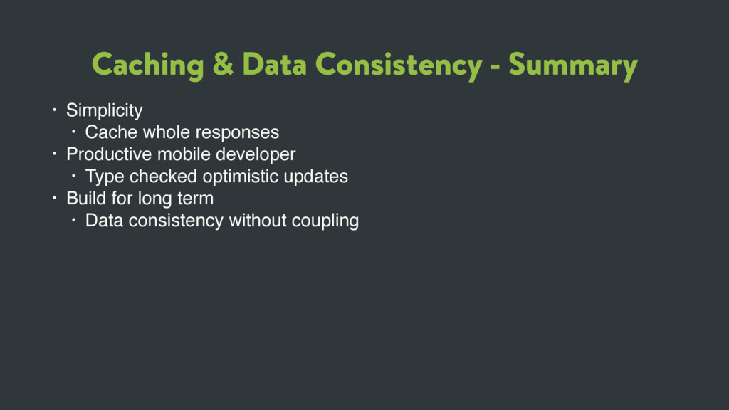 Caching & Data Consistency - Summary • Simplici...