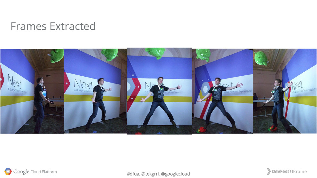#dfua, @tekgrrl, @googlecloud Frames Extracted