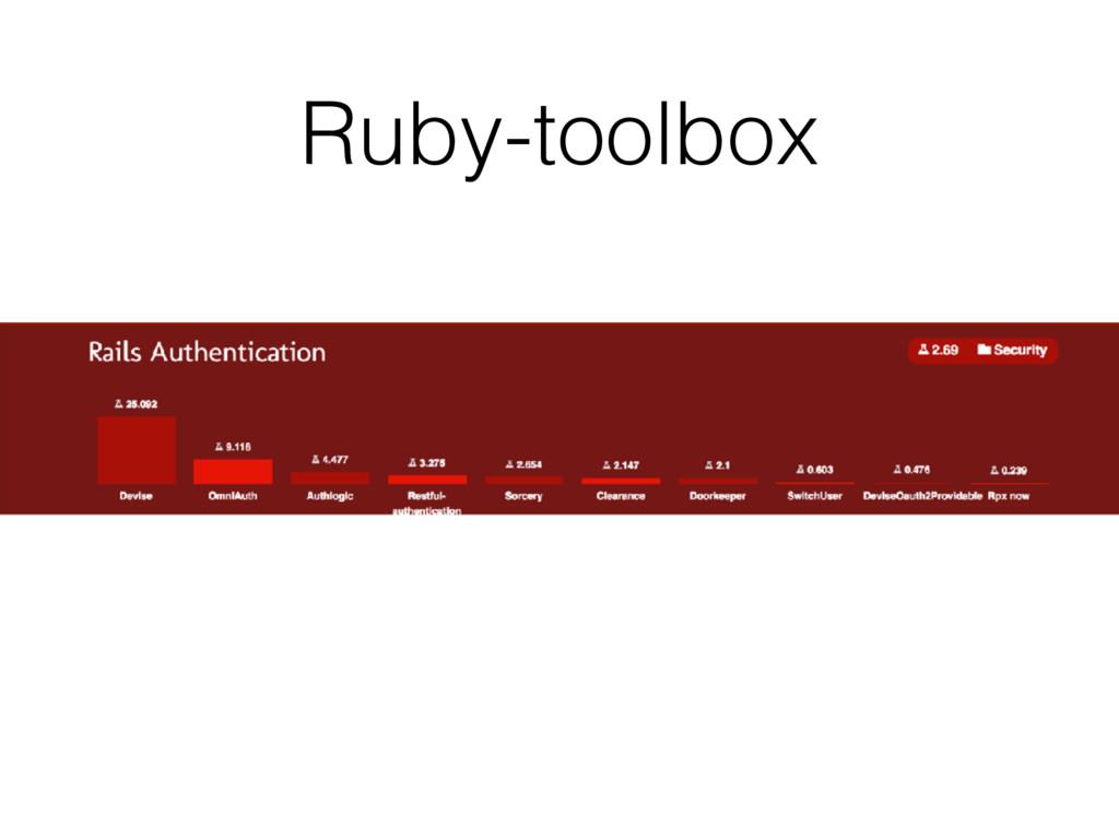 Ruby-toolbox