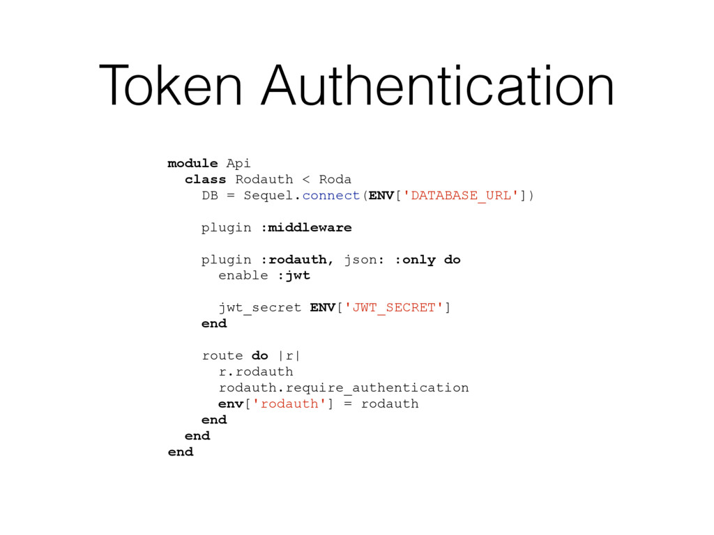 Token Authentication module Api class Rodauth <...