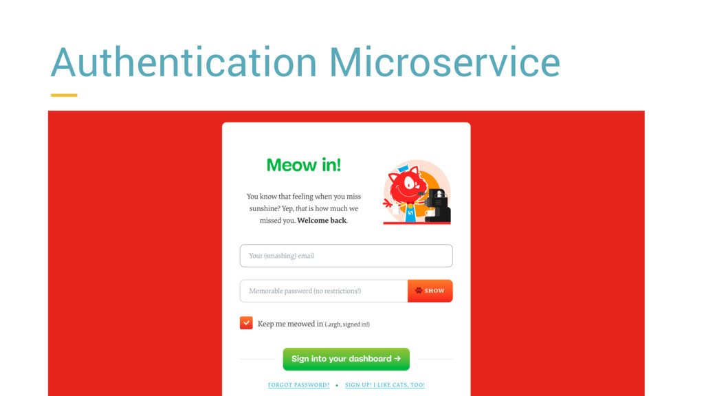 Authentication Microservice