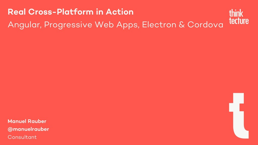Real Cross-Platform in Action Angular, Progress...