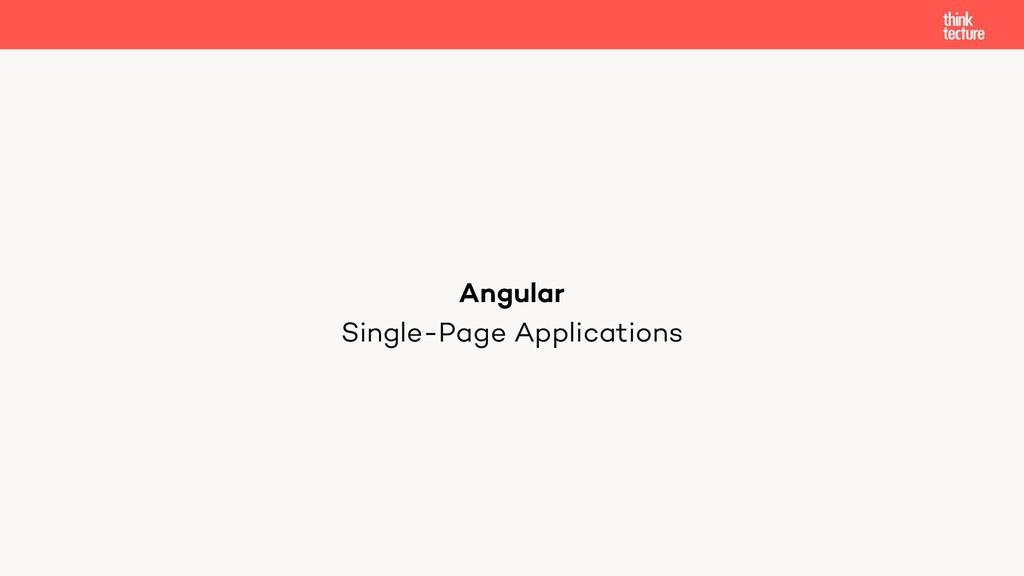 Single-Page Applications Angular