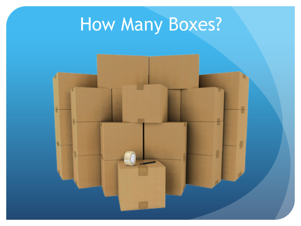 How Many Boxes?