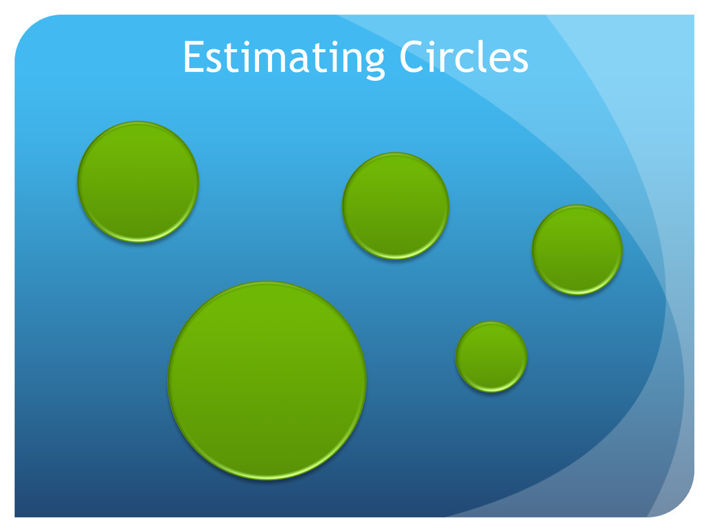 Estimating Circles