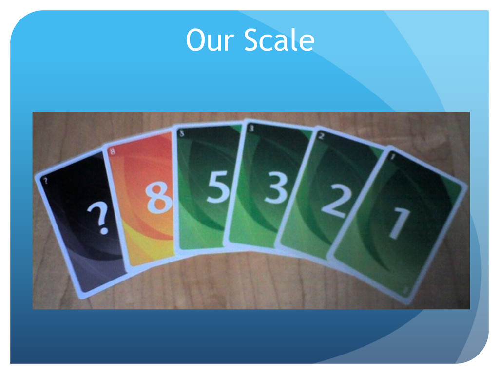 Our Scale
